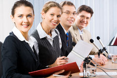 Four professionals Royalty Free Stock Image