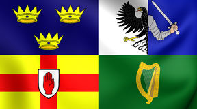 Four Provinces of Ireland Flag Royalty Free Stock Photo