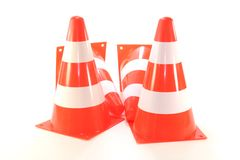 Four pylons Royalty Free Stock Images