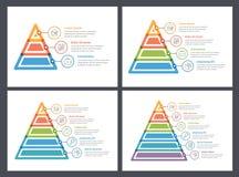 Pyramid Infographics Stock Photos