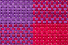 Four Quarters Pattern Of Raffia Texture Royalty Free Stock Photo