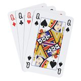 Four Queens Royalty Free Stock Photos
