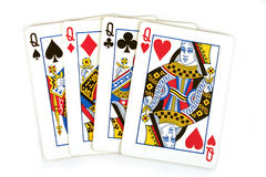 Four queens Royalty Free Stock Photography