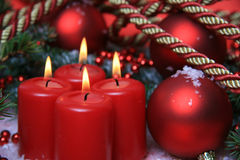 Candles background Royalty Free Stock Images