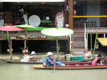 Four Regions Floating Market.Pattaya Stock Images