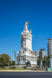 Four Regions monument in Buenos Aires, Argentina stock photography
