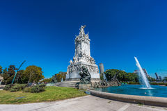 Four Regions monument in Buenos Aires, Argentina stock image