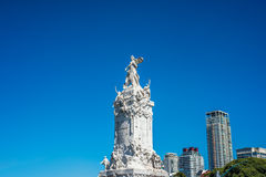 Four Regions monument in Buenos Aires, Argentina Stock Images