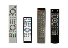 Four Remote Controls Royalty Free Stock Photography