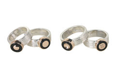 Four rings Stock Photography