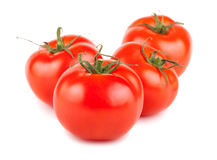 Four ripe red tomato Stock Photos