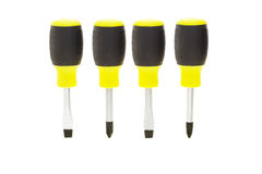 Four screwdrivers Royalty Free Stock Images
