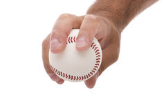 Four Seam Fastball Grip Stock Images