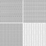 Four Seamless Pattern Stock Photos