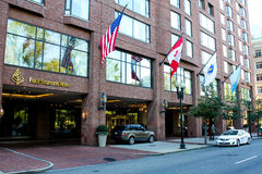 Four Season Hotel, Boston, MA. Royalty Free Stock Images