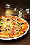Four Season Pizza Stock Photos