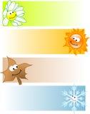 Four seasons Stock Photography