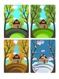 Four seasons Stock Photos