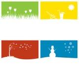 Four Seasons στοκ εικόνα
