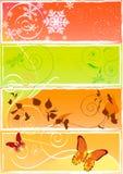 Four seasons Stock Image