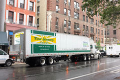 Four Seasons Delivery Truck Royalty Free Stock Image