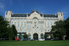 Four seasons hotel. (Grasham palace) in Budapest, Hungary stock image