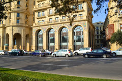 Four Seasons Hotel Baku. Baku, Azerbaijan - November 15, 2014: Four Seasons Hotel Baku Stock Photos