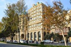 Four Seasons Hotel Baku. Baku, Azerbaijan - November 15, 2014: Four Seasons Hotel Baku Stock Images
