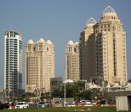 Four Seasons hotel in Doha, Qatar Royalty Free Stock Photos