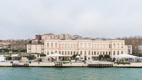 Four Seasons Hotel Istanbul Sultanahmet. A century-old Turkish prison, refurbished for luxury living. The building was designed by Mimar Kemaleddin Bey beginning stock photography