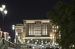 Four Seasons Hotel Moscow in Manege Square. Moscow, Russia Stock Photography