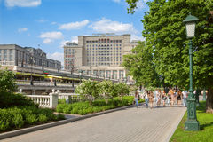 Four Seasons Hotel Moscow on Manezh square, Moscow Royalty Free Stock Photos