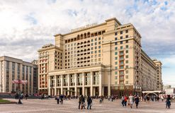 Four Seasons Hotel Moscow Royalty Free Stock Photo