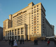 Four Seasons Hotel Moscow Royalty Free Stock Images
