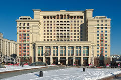 Four Seasons Hotel Moscow Royalty Free Stock Photos