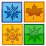 Four Seasons Icon Royalty Free Stock Image