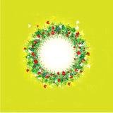 Four seasons: Shield 3 – Summer (Set of 4 seasonal shields) Stock Image