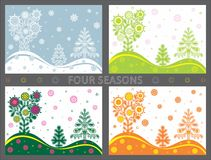 Four seasons Royalty Free Stock Image