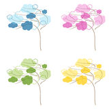 Four seasons tree Royalty Free Stock Image