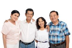 Four senior people Stock Images