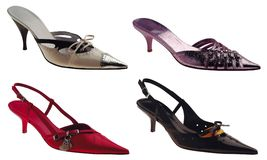 Four Shoes royalty free stock images