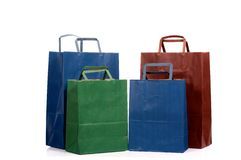 Four shopping bag Royalty Free Stock Images