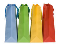 Four shopping bags Royalty Free Stock Photos