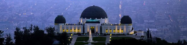 Griffith observatory Royalty Free Stock Photos