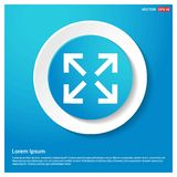 Four Side Arrow Icon. This Vector EPS 10 illustration is best for print media, web design, application design user interface and infographics with well stock illustration
