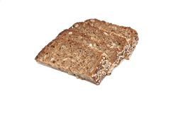 Four slice of bread. Royalty Free Stock Images