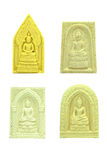 Four small buddha image Royalty Free Stock Photography