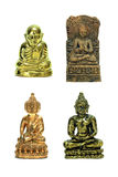 Four small buddha image royalty free stock image