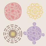 Spring mandalas Royalty Free Stock Images