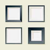 Four Square Frames Royalty Free Stock Images